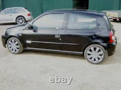 05 Renault Clio Sport RS 182 Cup 16 Anthracite Alloys Wheels TYRES GENUINE