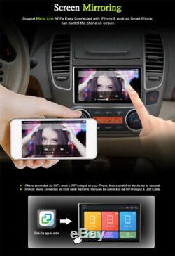 10.1'' 1 Din 1+16G Car Stereo Radio Touch Screen 4 Core GPS Wifi SAT NAV MLK BT