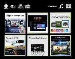 10.1 2Din Android9.1 Bluetooth Car GPS Navigation Stereo Radio USB Wifi DAB DTV