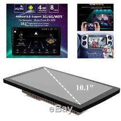 10.1 Touch 2 DIN 4G+32G Octa-Core Car Stereo Radio GPS Wifi BT Mirror Link SWC
