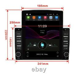 10.1in 1DIN Android 8.1 Car Radio Stereo MP5 Player GPS Sat Nav BT WIFI Hotspot