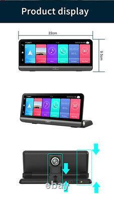 1080P Android 8.1 Dash Cam Car DVR Camera GPS Navigation Recorder ADAS WIFI 4G