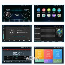 1Din Adjustable Android 9.1 10.1 1080P Quad-core 1GB+16GB Car Stereo Radio GPS