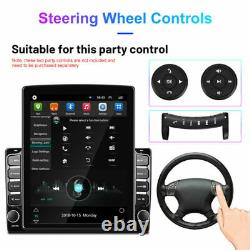 2+32GB Android 9.1 1Din 10.1In Car Stereo Radio Sat Nav GPS WIFI MP5 Player