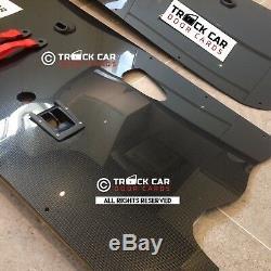 2 x Renault Clio Sport 172 182 MK1/2 Door Card (FUll OEM) Carbon Effect Or Gloss