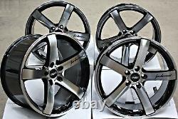 20 Alloy Wheels 5x108 20 Inch Alloys 5 Spoke Deep Concave Cruize Blade Bp