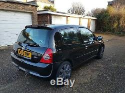 2005 Renault Clio Sport 182 Cup 86k Standard, clean example
