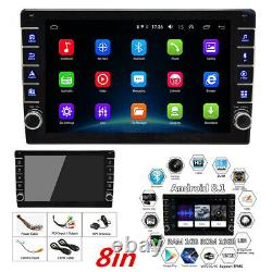 2Din 8in Android 8.1 HD Touch Screen Car Stereo Radio 1GB+16GB With GPS&Wifi 4G