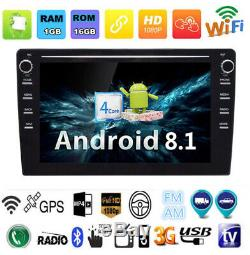 2Din Android8.1 9 Car Stereo Radio Wifi 4G BT DAB Mirrorlink OBD GPS Background