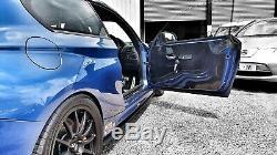 2x RENAULT CLIO SPORT 172 182 MK2 1mm CARBON Door Card Panels Race Track Car
