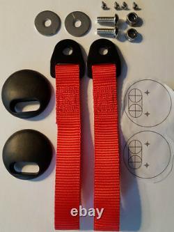 2x RENAULT CLIO SPORT 197 200 MK3 Lightweight Carbon Effect Door Card Panels