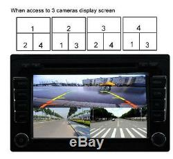 360° Full Parking View With Front/Rear/Right/Left 4 Cameras DVR&Video Monitoring