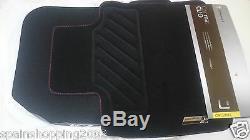 4 Tapis De Sol Textile Renault Sport Clio IV 4 2012-2018 Rs Original 8201657950