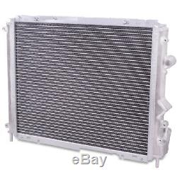 40mm HIGH FLOW ALUMINIUM RADIATOR RAD FOR RENAULT CLIO MK2 172 182 2.0 16V SPORT