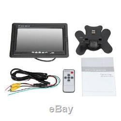 4CH 720P DVR IR Security Camera System +7'' Monitor Recorder+Night Vision Camera