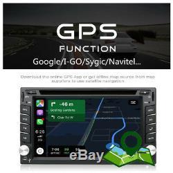 6.2 Car Stereo Radio Android 8.1 GPS DVD MP5 Player WiFi BT OBD DAB DVB RDS DVR
