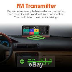 7.84'' Car IPS Touch Screen Dual DVR Dash Cam Recorder GPS Navigation Vedio MP3