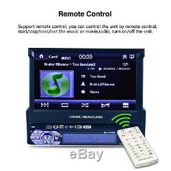 7 Bluetooth Autos Car MP3 MP5 DVD Player 1 Din (with Camera) HD Touch Screen
