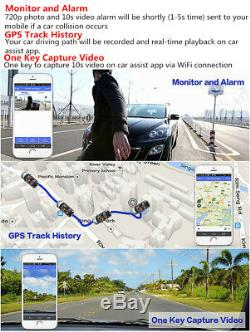 8'' Touch Screen ADAS Android 5.1 Car Dashboard GPS Navi DVR Video Recorder WiFi