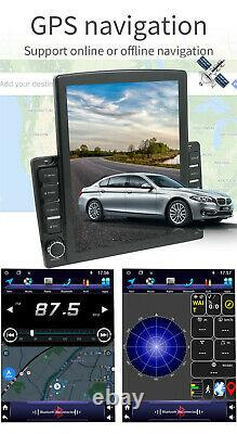 9.7'' Android 9.1 2Din Car Stereo Sat Nav GPS Bluetooth Player WiFi DVR 1+16GB