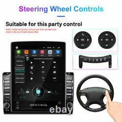 9.7In 2DIN Android 9.1 Car GPS Sat Navi Bluetooth Radio Wifi Multimedia Player