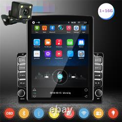 9.7in 2DIN Android 9.1 Car GPS FM Stereo Radio MP5 Player Bluetooth Wifi Camera