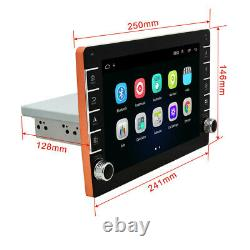 9in 1Din Car Stereo Radio MP5 Player Android 8.1 GPS SAT NAV BT WiFi FM +Cams