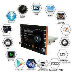 9in Single Din Android 8.1 Car Stereo Head unit Radio Sat Nav WiFi USB FM Player