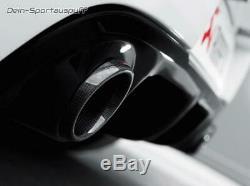Akrapovic Edelstahl Duplex Sportauspuff Renault Clio 3 RS je 1x rund aus Carbon