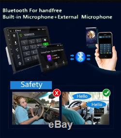 Android 6.0 9inch Double 2Din Quad-Core Car Stereo Radio GPS WiFi 4G Mirror Link
