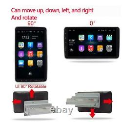 Android 9.1 2Din 10.1in Rotatable Screen Car Radio Stereo Player FM WIFI BT GPS
