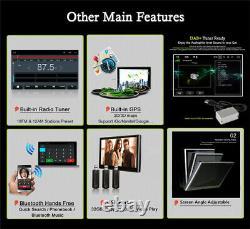 Android 9.1 2Din 9 HD Bluetooth Stereo Radio Car MP5 Player GPS Sat Nav 2+32G