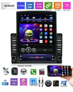 Android 9.1 9.7in HD Vertical Screen Touch Quad-Core 2+32 Car Stereo Radio GPS