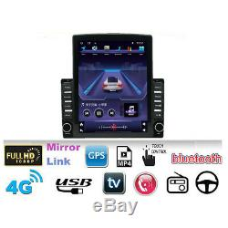 Android 9.1 Quad-Core 9.7In Vertical Screen Car Stereo Radio BT GPS Wifi OBD DAB