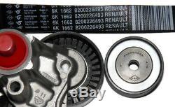 Auxiliary Belt Kit Renault Clio II Sport 2.0 16v 172/182 (oe 7701477519)