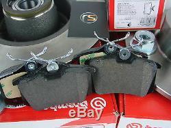Bremsscheiben + Radlager + Beläge hinten Renault Twingo II 1.6 RS Brembo