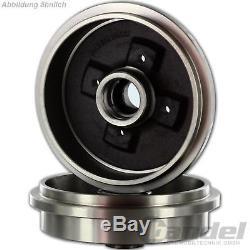 Bremstrommeln + Febi Bremsbacken + Fag Radlager + Seile Renault Twingo I C06 Abs