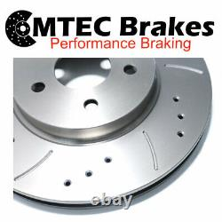 CLIO CUP SPORT 172 Drilled Grooved Brake Discs Front
