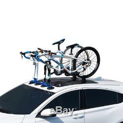 Car Roof Mounted Upright Bicycle Rack Bike Locking Roof Bike Rack Aluminum
