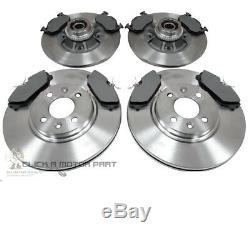 Clio 172 182 Cup Sport Front & Rear Mintex Brake Discs Pads Bearings Abs Rings