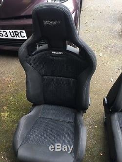 Clio Renault sport seats clio 197 200 recaro bucket seats Renault