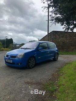 Clio Sport 182 Racing Blue FF (low mileage)