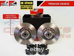 Clio Sport Cup 2.0 Rear Brake Discs With Bearings & Abs Ring & Mintex Brake Pads