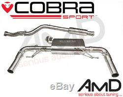 Cobra Sport Renault Clio 200RS Cat Back Exhaust System Resonated Stainless Steel