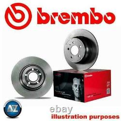 FOR RENAULT CLIO SPORT 197 200 FRONT OE BREMBO BRAKE DISCS PAIR 312mm