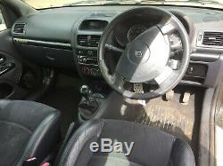 FULL MOT 2001 renault clio DYNAMIQUE 1.2 16V petrol black 3dr sport first car