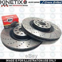For Clio Sport 1.6 Rs Trophy Front Performance Drilled Brake Discs Mintex Pads