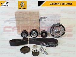 For Clio Sport 2.0 172 182 Genuine Camshaft Dephaser Pulley Timing Belt Kit New