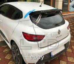 For RENAULT CLIO 2013 MK4 WRC SPORT RALLY STYLE REAR BOOT LID SPOILER LIP WING