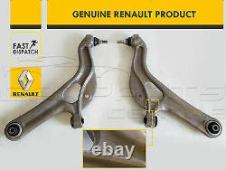 For Renault Clio 197 200 Rs Sport Front Lower Control Arms Ball Joint Rods Links